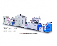 Automatic two-color screen printing machine