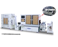 CCD closed automatic screen printing machine